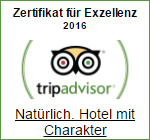 Tripadvisor Award of Exzellenz 2016