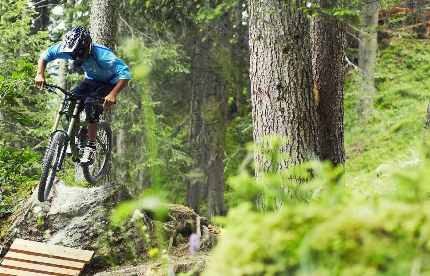 Bikepark in Fiss - Tirol. Bikepark SFL in Österreich.