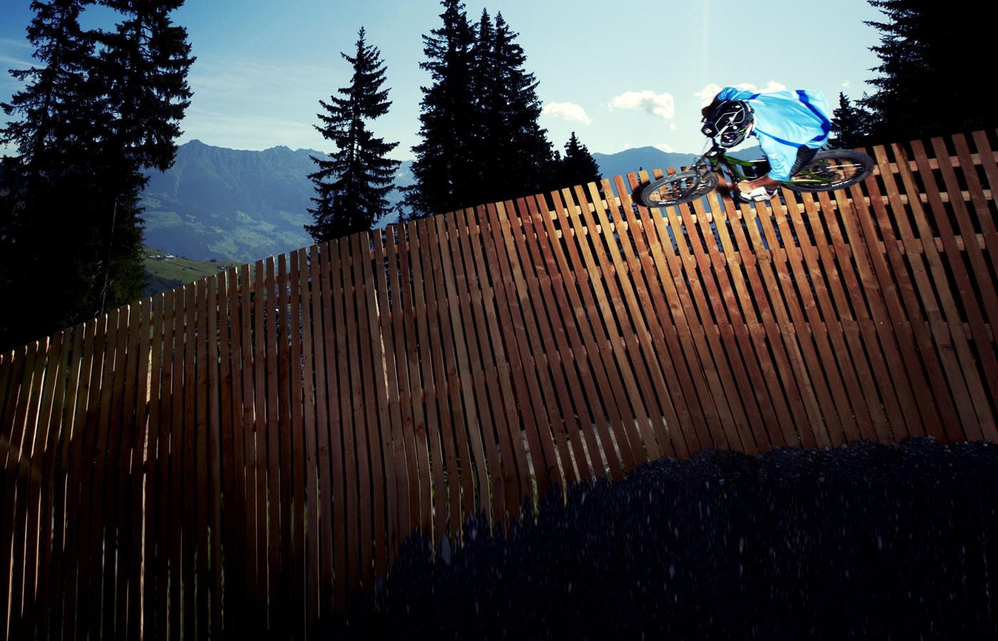 Steilkurve Bikepark Fiss - Hotel in Nähe Bikepark SFL - Tirol.