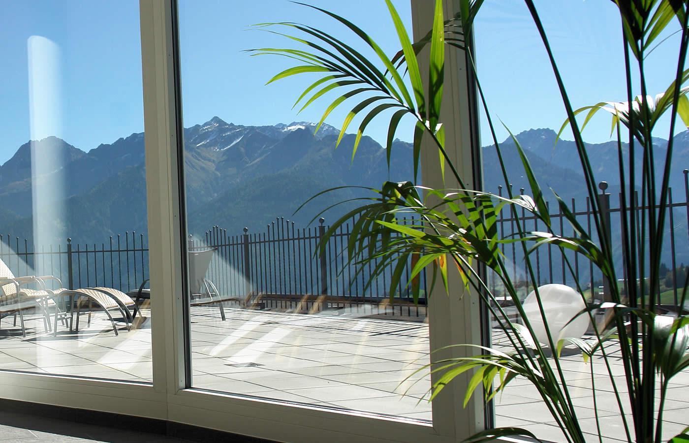 Hotel Natürlich Wellness - Aussicht und Weitblicke über Serfaus-Fiss-Ladis.
